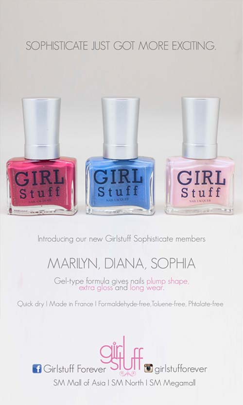 Girlstuff - 2014 Sophisticate Collection Poster