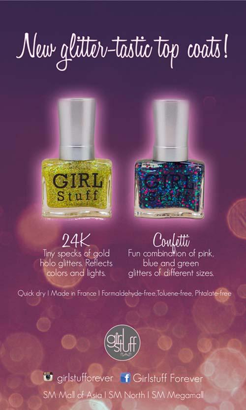 Girlstuff - Glitter-tastic Top Coats Poster
