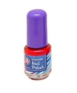 Washable Nail Polish Red - Washable Nail Polish