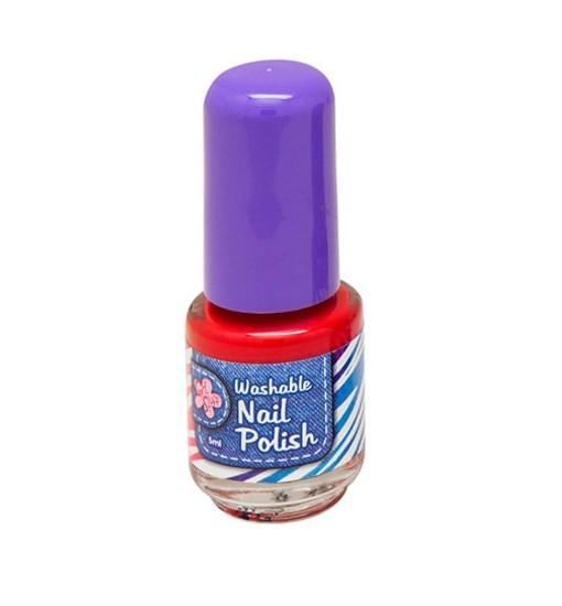 Washable Nail Polish Red - Washable Nail Polish