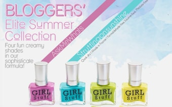 Girlstuff - Bloggers Elite Summer Collection Poster