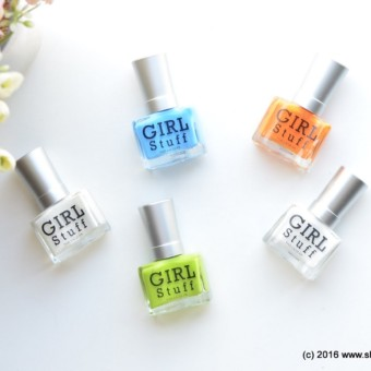 Girlstuff's Summer Worthy RAVE Neon Polishes & UV Topcoat Gel - Summer Rave Neon Collection