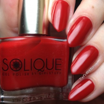 Girlstuff Solique Gel Collection Swatches and Review - Solique Gel Polish