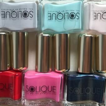 Solique Gel polish you don't need to put under artificial UV light - Solique Gel Polish