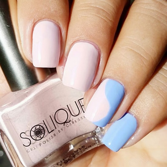 Solique Rose Quartz 1 - Featured Nail Arts