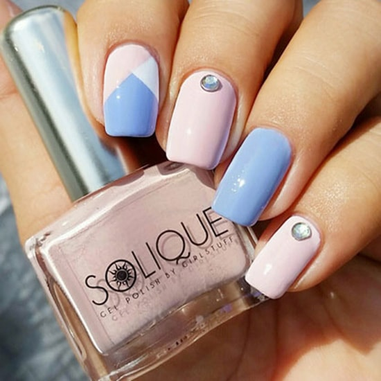 Solique Rose Quartz 3 - Featured Nail Arts