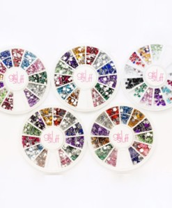 Mini Stones (Round, Flower, Square, Heart) - Nail Art Tools