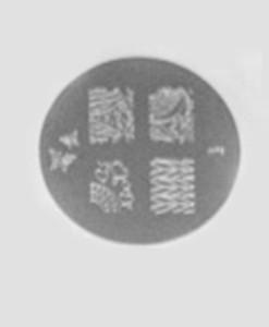 Round Stamping Plates 2 - Nail Art Tools