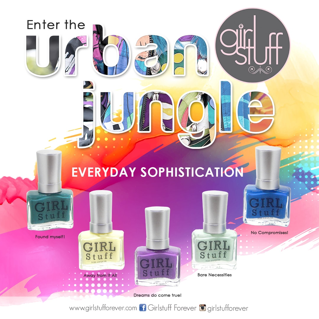 Girlstuff - Urban Jungle Collection Poster